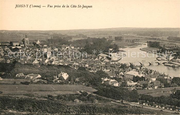 Ak joigny vue g n rale nr 6327483 oldthing ansichtskarten europa belgien frankreich luxemburg - La cote saint jacques joigny ...