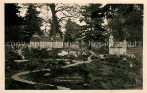 AK / Ansichtskarte Oederan Kleinerzgebirge Stadtpark Kat. Oederan
