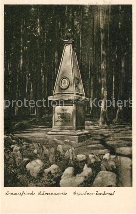 AK / Ansichtskarte Schmannewitz Graubner Denkmal Kat. Dahlen Sachsen