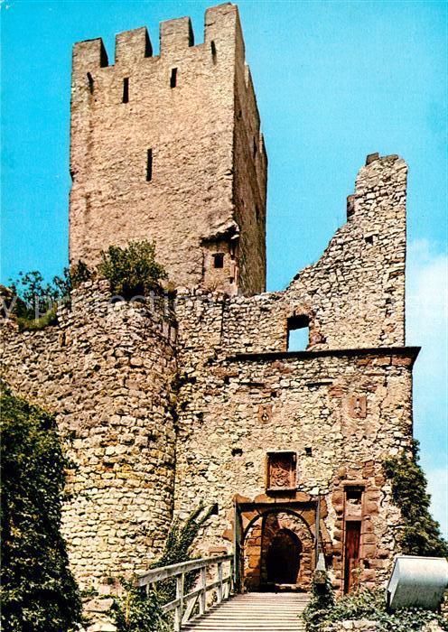 AK / Ansichtskarte Loerrach Burgruine Roetteln  Kat. Loerrach