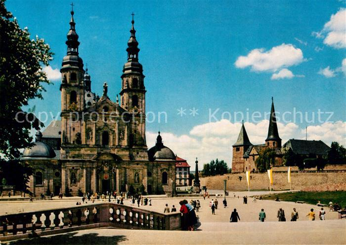 AK / Ansichtskarte Fulda Dom St. Michaelskirche  Kat. Fulda