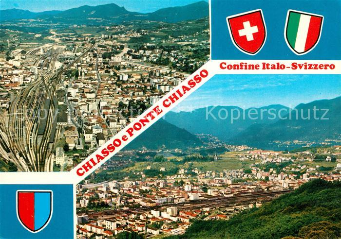 AK / Ansichtskarte Chiasso Confine Italo Sviezzero Kat. Chiasso