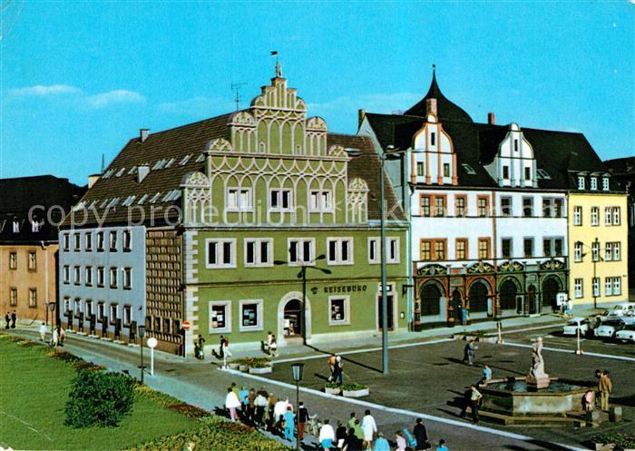 AK / Ansichtskarte Weimar Thueringen Stadthaus mit Lucas Cranach Haus Kat. Weimar