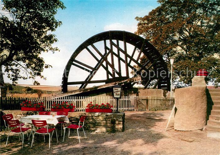 AK / Ansichtskarte Bad Nauheim Das grosse Rad in Schwalheim  Kat. Bad Nauheim