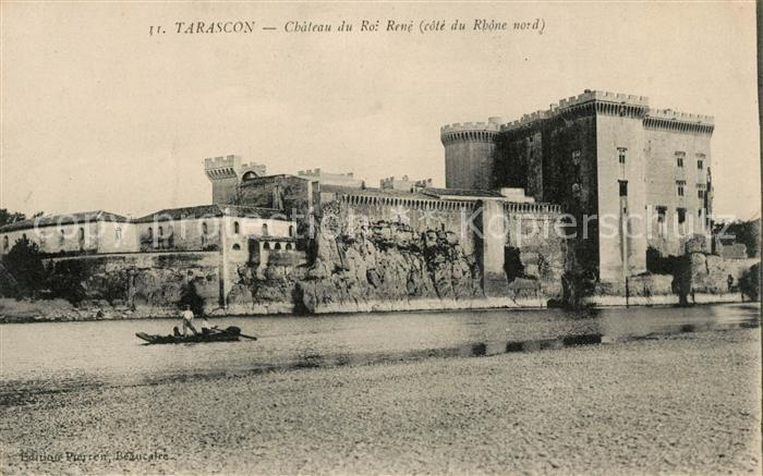AK / Ansichtskarte Tarascon Bouches du Rhone Chateau du Roi Rene le Rhone