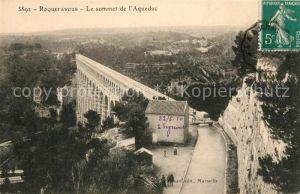 AK / Ansichtskarte Roquefavour Le sommet de l Aqueduc Kat. Ventabren