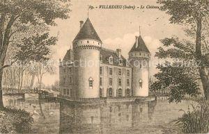 AK / Ansichtskarte Villedieu le Chateau Kuenstlerkarte Chateau Kat. Villedieu le Chateau