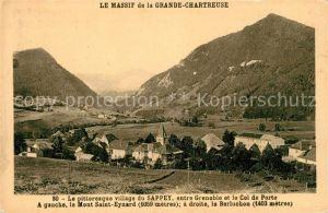 AK / Ansichtskarte Sappey en Chartreuse Isere Le avec Massif de la Grande Chartreuse Kat. Le Sappey en Chartreuse