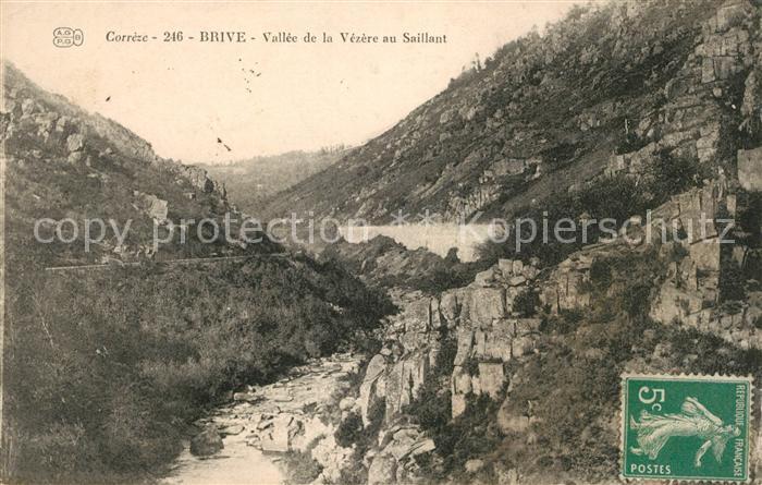 AK / Ansichtskarte Brive Correze Vallee de la Vezere au Saillant Kat. Correze
