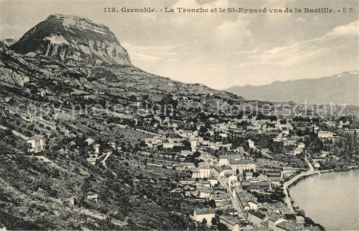 AK / Ansichtskarte Grenoble La Tronche et le Mont Saint Eynard Kat. Grenoble