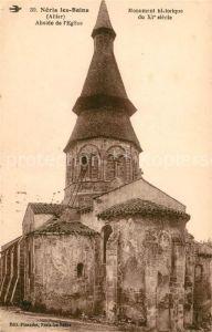 AK / Ansichtskarte Neris les Bains Abside de l Eglise Monument historique du XI siecle Kat. Neris les Bains