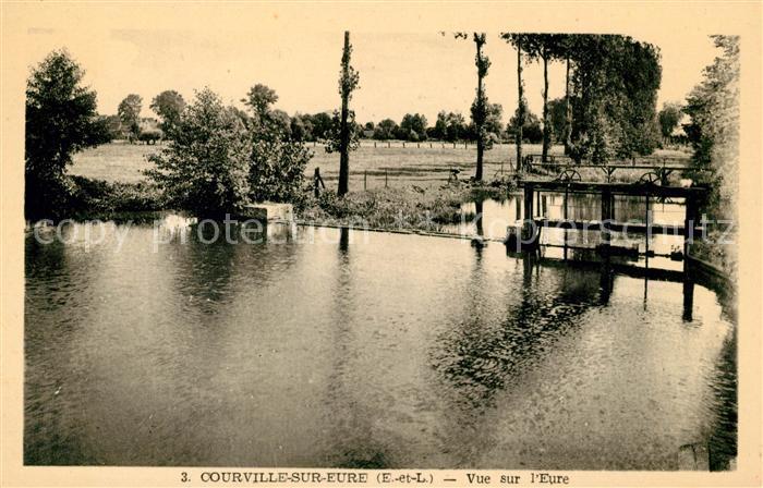 AK / Ansichtskarte Courville sur Eure Eure Kat. Courville sur Eure