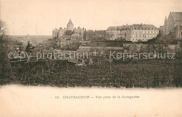AK / Ansichtskarte Chateaudun Vue prise de la Guinguette Kat. Chateaudun