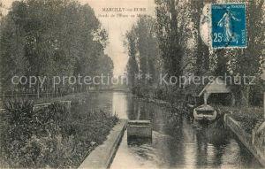 AK / Ansichtskarte Marcilly sur Eure Bords de l`Eure Kat. Marcilly sur Eure
