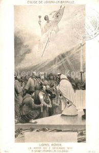AK / Ansichtskarte Loigny la Bataille Eglise Lionel Royer  Kat. Loigny la Bataille
