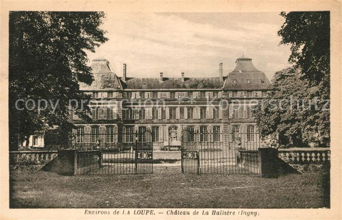 AK / Ansichtskarte La Loupe Chateau de la Hallier Kat. La Loupe