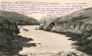 AK / Ansichtskarte Belle Ile en Mer Anse du port du Vieux Chateau