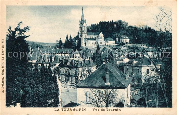 AK / Ansichtskarte La Tour du Pin Vue de Tournin Kat. La Tour du Pin