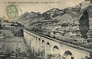 AK / Ansichtskarte Dauphine Ligne de Grenoble a Gap Viaduc Kat. Grenoble