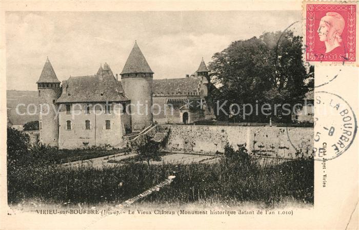 AK / Ansichtskarte Virieu Chateau  Kat. Virieu