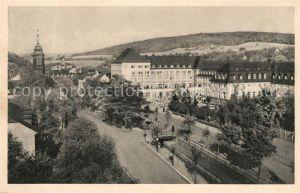 AK / Ansichtskarte Oberschlema Erzgebirge Kurhotel Radiumbad Kat. Bad Schlema