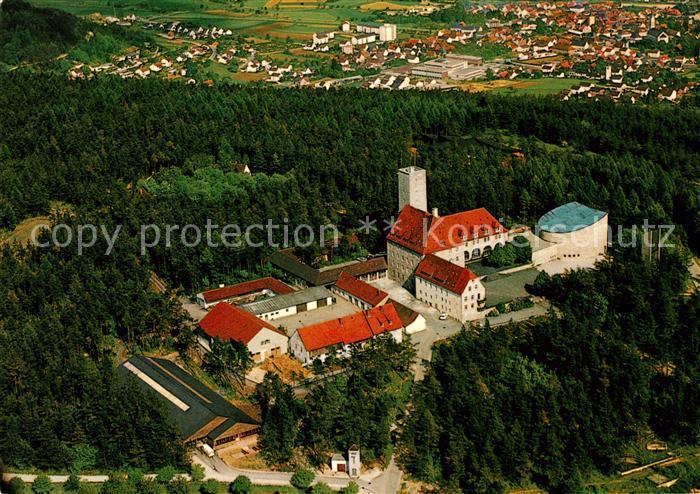 AK / Ansichtskarte Ebermannstadt Fliegeraufnahme Burg Feuerstein Kat. Ebermannstadt