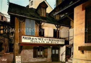 AK / Ansichtskarte Lourdes Hautes Pyrenees Geburtshaus Saint Bernadette Kat. Lourdes