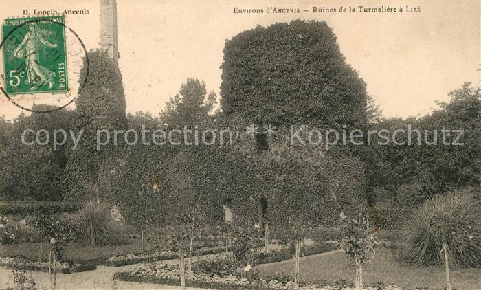 AK / Ansichtskarte Ancenis ruines de la Turmeliere a Lire Kat. Ancenis