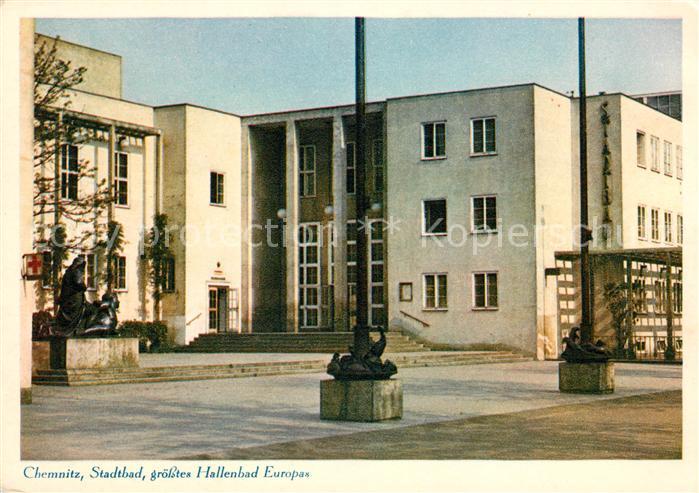 AK / Ansichtskarte Chemnitz Stadtbad  Kat. Chemnitz