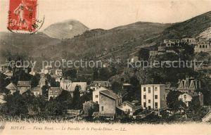 AK / Ansichtskarte Royat Puy de Dome Le Paradies et le Puy de Dome Kat. Royat