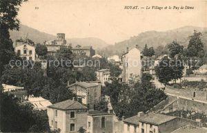 AK / Ansichtskarte Royat Puy de Dome Village et le Puy de Dome Kat. Royat