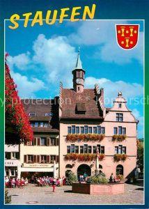 AK / Ansichtskarte Staufen Breisgau Rathaus  Kat. Staufen im Breisgau