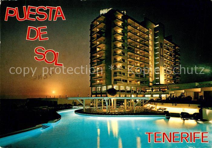 AK / Ansichtskarte Playa de las Americas Hotel Gran Tinerfe Puesta de Sol Kat. Arona Tenerife Islas Canarias