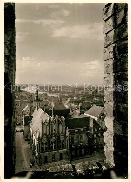 AK / Ansichtskarte Frankfurt Oder Blick vom Turm der Marienkirche Kat. Frankfurt Oder