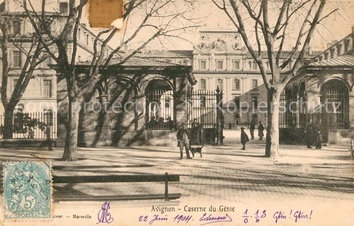AK / Ansichtskarte Avignon Vaucluse Caserne du Genie Kat. Avignon