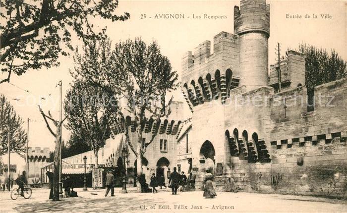 AK / Ansichtskarte Avignon Vaucluse Les Remparts Entree de la Ville Kat. Avignon