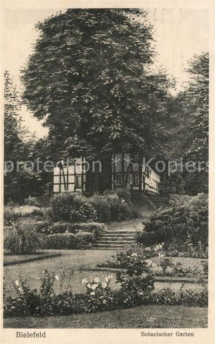 AK / Ansichtskarte Bielefeld Botanischer Garten Kat. Bielefeld