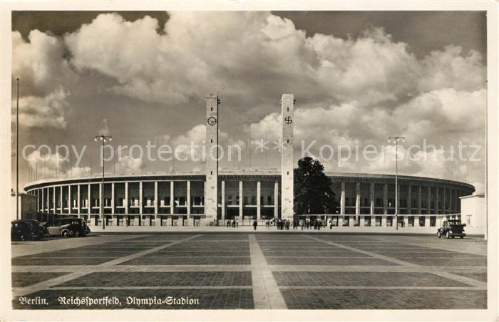 AK / Ansichtskarte Berlin Reichssportfeld Olympia Stadion Kat. Berlin