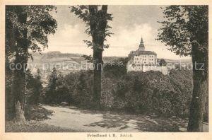 AK / Ansichtskarte Friedland Boehmen Schloss Friedland Kat. Frydlant