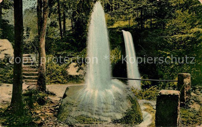 AK / Ansichtskarte Heuscheuer Wasserfaelle