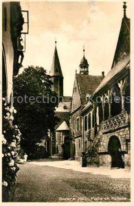 AK / Ansichtskarte Goslar Rathaus Kat. Goslar