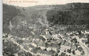 AK / Ansichtskarte Berneck Fichtelgebirge Ansicht vom Berg aus Kat. Bad Berneck