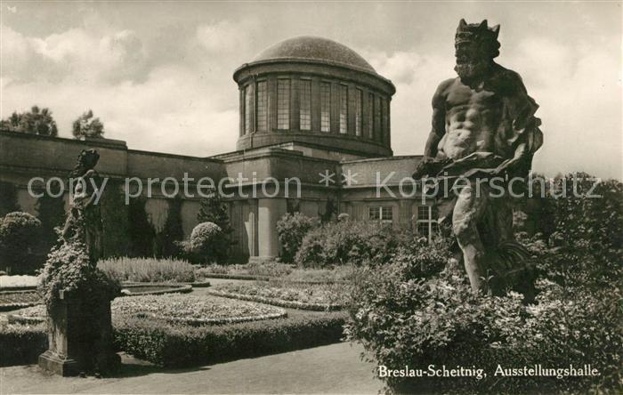 AK / Ansichtskarte Breslau Scheitnig Ausstellungshalle