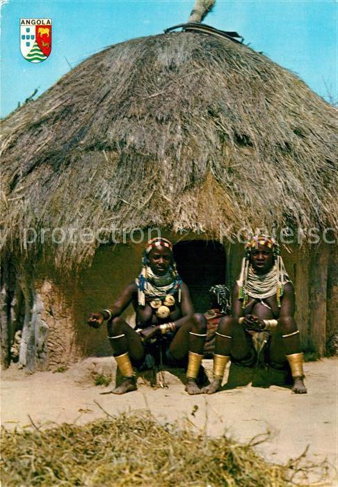 AK / Ansichtskarte Angola Typen Huette  Kat. Angola