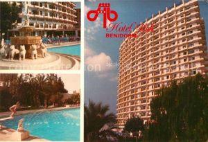 AK / Ansichtskarte Benidorm Hotel Bali Kat. Costa Blanca Spanien
