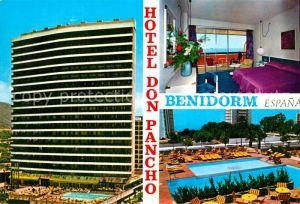 AK / Ansichtskarte Benidorm Hotel Don Pancho Kat. Costa Blanca Spanien