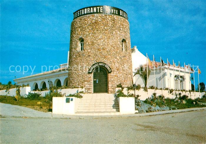 AK / Ansichtskarte Estepona Restaurant Monte Biarritz Kat. Costa del Sol Malaga