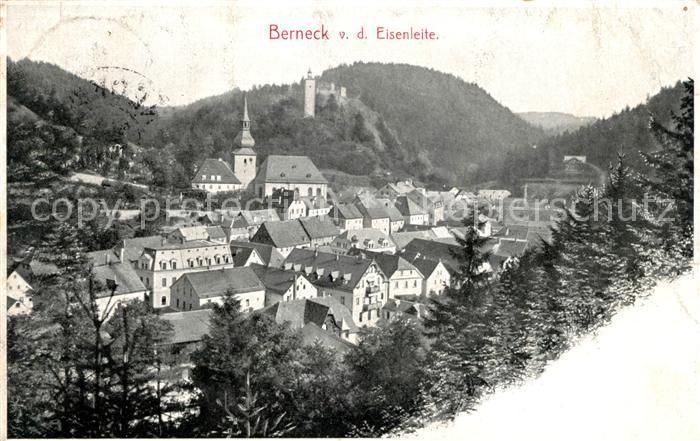 AK / Ansichtskarte Bad Berneck Panorama Blick von der Eisenleite Kat. Bad Berneck Fichtelgebirge