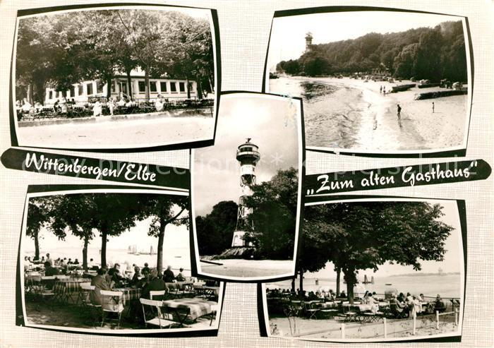 AK / Ansichtskarte Wittenbergen Elbe Zum alten Gasthaus Terrassen Kat. Hamburg