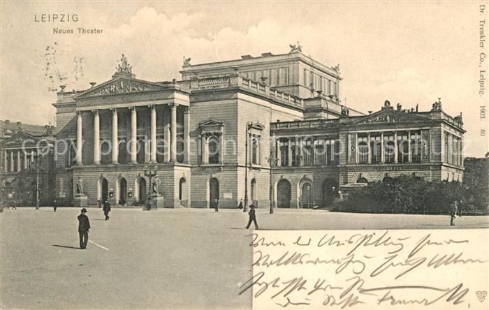 AK / Ansichtskarte Leipzig Neues Theater Kat. Leipzig